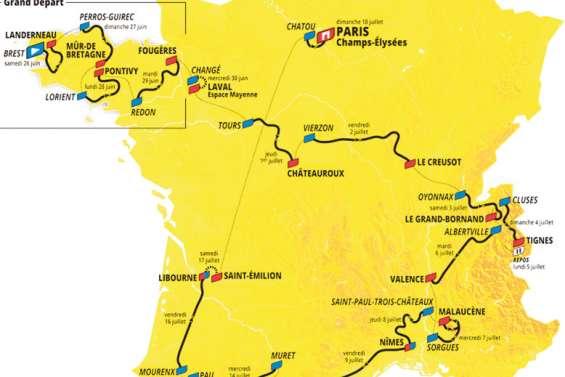 Le Tour de France s'adapte à la crise