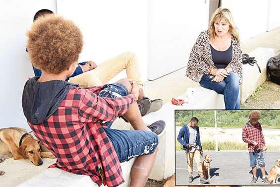 Redonner confiance à des jeunes désorientés à travers la thérapie animale