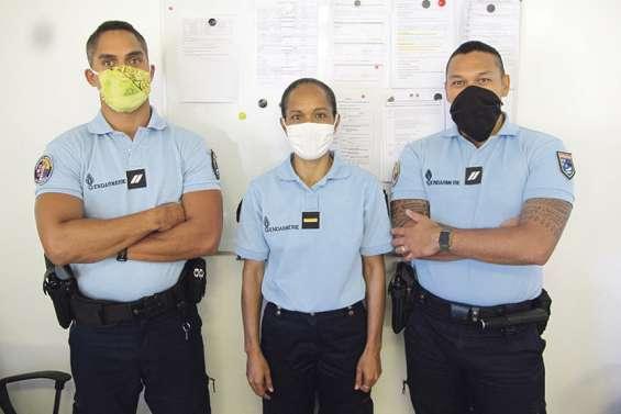 Gendarmerie 100 % océanienne aux Marquises