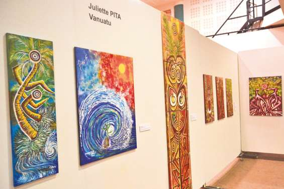 L'exposition « Totem 2 » au Dock socioculturel jusqu'au 10 octobre