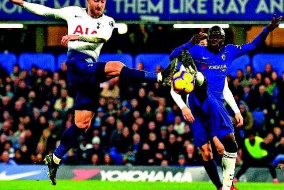 Tottenham coule à Stamford Bridge