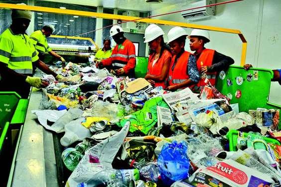Déchets triés pas recyclés durant sept mois