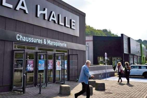 Trois marques vont se partager La Halle
