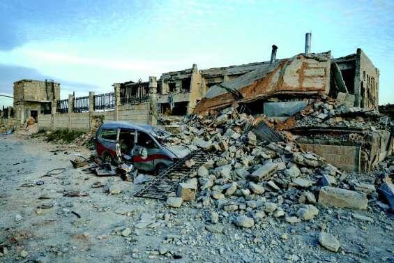 Trois hôpitaux détruits par des frappes russes