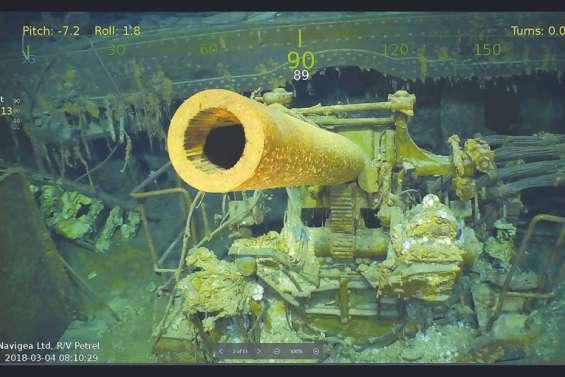 L'USS Lexington retrouvé à 3 000 mètres