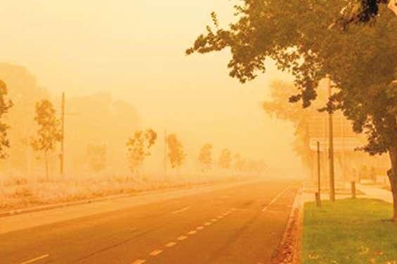 Comment les vacanciers du Caillou s'adaptent aux feux australiens