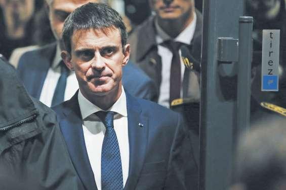 Valls n'exclut pas d'être candidat face à Hollande