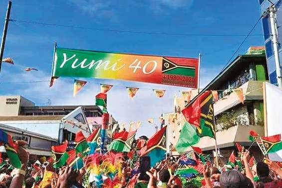 Pour ses quarante ans, le Vanuatu en fête
