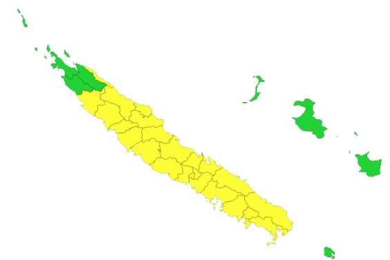 La Grande Terre placée en vigilance jaune fortes pluies/orages