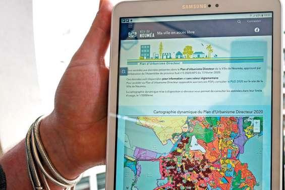 La ville ouvre et partage ses données géographiques gratuitement