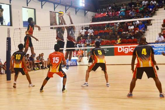 Jeux du Pacifique : les volleyeurs filent en demi-finale