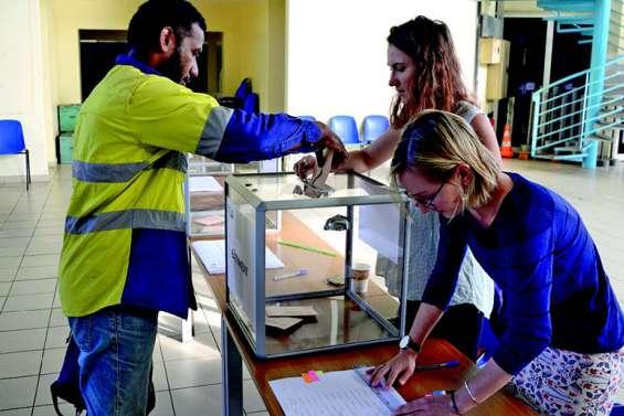 Jour de vote à la Maison des artisans