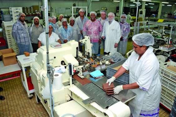 Le FLNKS Sud visite l'entreprise Biscochoc