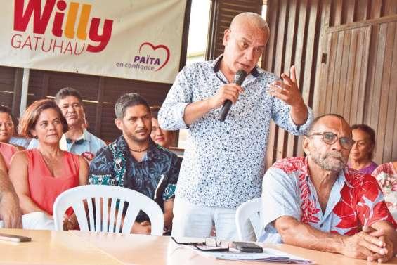 Willy Gatuhau présente une liste renouvelée pour les municipales