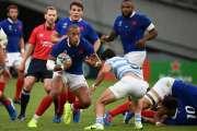 Mondial de rugby: la France bat l'Argentine 23-21 dans un match capital pour la qualification