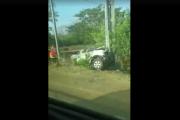 Un blessé grave dans un accident de la route à l'entrée de Boulouparis