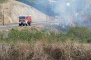 Incendie à Dumbéa et à Nouméa : des familles évacuées et des dégâts à déplorer