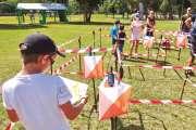 Une course d'orientation au parc Fayard