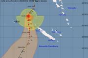 Uesi : alerte cyclonique de niveau 2 pour 5 communes à midi