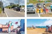 Démonstration de force du collectif « Usine du Sud= usine pays» partout sur le Caillou