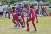 Football : L'Olympique impressionne, Hienghène tient son rang