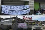 [MàJ] Le Géant Sainte-Marie et le Leader-Price de Magenta restent bloqués ce week-end