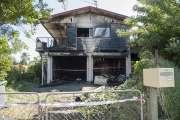 Une maison partie en fumée à Magenta