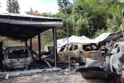 Incendie au 4e km : deux suspects interpelés