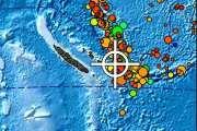 Séisme de magnitude 6,5 au sud-est des Loyauté, pas de risque de tsunami