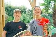 Squash : Yann Lancrenon et Brice Nicolas honorent la mémoire d'Enzo Corigliano