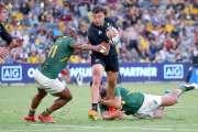 Rugby : les All Blacks dominent les champions du monde