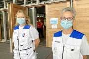 Deux volontaires de la réserve sanitaire témoignent avant de regagner Paris