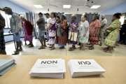 Référendum: Les inscriptions aux bureaux de vote sont prolongées
