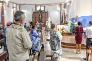 À la cathédrale, les croyants témoignent leur