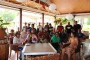 L'Association calédonienne des handicapés visite les lieux touristiques du pays