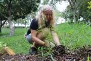 Hélène Cazé repeuple les forêts sèches de Nouméa avec l'aide de petits jardiniers en herbe