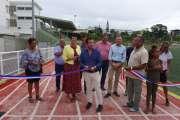 Nouméa: une piste d'athlétisme rénovée pour les 65800 usagers du stade PLGC
