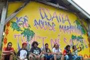 Un chantier graff et de la peinture pour embellir le marché de Saint-Philippe