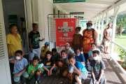 Les enfants du centre de vacances visitent le Musée de la mine