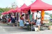Mont-Dore: les habitants au rendez-vous pour le marché spécial vide-greniers