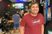 Jonas, un gamer aux JO du jeu vidéo