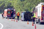 Païta: un véhicule se retourne dans le col de la Pirogue, pas de blessé