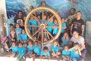 Des écoliers de Pothé découvrent l'univers du voyage maritime
