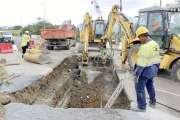Le chantier de lanouvelle conduite d'eau principale de Nouméa bientôt terminé