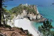 La plage de l'île Vierge, fruit défendu