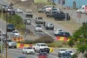 Un motard dans un état grave après un accident avec une voiture à Nouméa