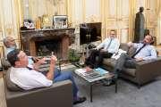 Avec Edouard Philippe, les parlementaires Calédonie ensemble ont parlé des référendums et de la SLN