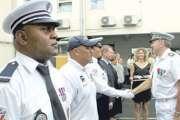 Un hommage aux policiers