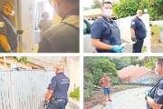Les policiers au chevet des Calédoniens en autoconfinement