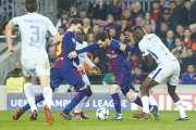 Porté par Messi, le Barça file en quarts de finale